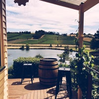 Photo taken at Josef Chromy Winery and Cafe by Clare {georgeandbear.com} on 12/19/2015