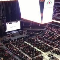 Photo taken at Arena Ciudad de México by Jessica D. on 6/22/2013
