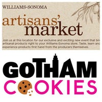 Photo taken at Williams-Sonoma by Gotham Cookies on 6/4/2015