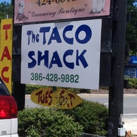 Photo taken at The Taco Shack by Brit K. on 7/6/2013