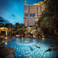 Photo taken at Sunway Resort Hotel & Spa by Dayang Y. on 7/11/2013
