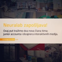 Photo taken at Neuralab & Transmeet.Tv by Kreshomir on 7/2/2014