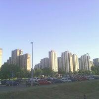 Photo taken at Park u bloku 62 by Anex O. on 9/19/2013