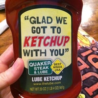 Photo taken at Quaker Steak & Lube® by Amy R. on 9/7/2013
