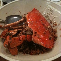 Photo taken at The Red Crab Alimango House by イアン·ジョージ I. on 4/7/2012