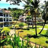 Photo taken at Fairways & Bluewater Resort Boracay by Ardrynn B. on 5/5/2013