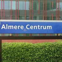 Photo taken at Station Almere Centrum by Nicole M. on 5/30/2013