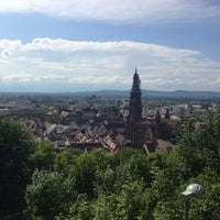 Photo taken at Kanonenplatz Freiburg by Dennis U. on 6/9/2013