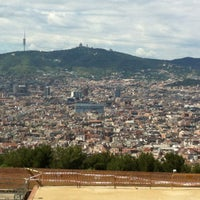 Photo taken at Parc de Bombers de Montjuïc by Hasan Ö. on 5/22/2013