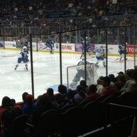 Photo taken at Syracuse Crunch Hockey Club by Jonathan B. on 2/22/2014