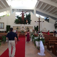 Photo taken at Parroquia de Cristo Resucitado by Yacob C. on 4/19/2013