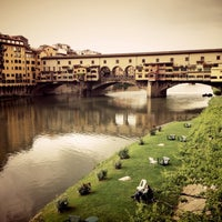 Photo taken at Ponte Vecchio by Olesya H. on 5/7/2013