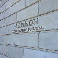 Photo taken at Cannon House Office Building by Robert R. on 1/20/2013