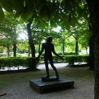 Photo taken at Jardin du Musée Rodin by Olga J. on 5/6/2013