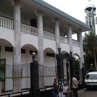 Photo taken at Masjid Jami Asy-Syakirin by Fungki A. on 5/13/2013