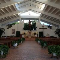 Photo taken at Parroquia de Cristo Resucitado by Elías P. on 6/12/2013