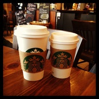 Photo taken at Starbucks by Pamela Y. on 2/24/2013