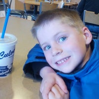 Photo taken at Culver's by Bill on 4/19/2013