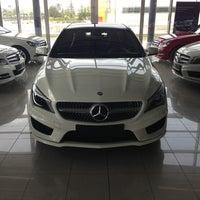 Photo taken at Mercedes-Benz by Feyzullah B. on 5/30/2013