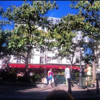 Photo taken at Café Delmas by Cyril S. on 5/19/2013