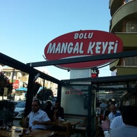 Photo taken at Bolu Mangal Keyfi by Halime E. on 6/1/2013