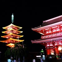 Photo taken at Senso-ji Temple by Takumi I. on 8/31/2013