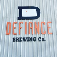 Photo taken at Defiance Brewing Co. by Nate D. on 9/3/2016