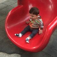 Photo taken at Parque José Mariano Muciño by Alejandra S. on 6/10/2016