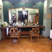 Photo taken at Barber Shop 1900 by Christos V. on 12/14/2014