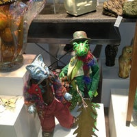 Photo taken at Langman Gallery by Sharyn F. on 12/23/2012