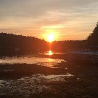 Photo taken at Linekin Bay Resort by Poshbrood on 8/24/2016