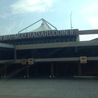 Photo taken at Sultan Mahmud Badaruddin II International Airport (PLM) by Irfan Triswana T. on 5/18/2013