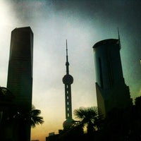 Photo taken at Oriental Pearl Tower by Jean R. on 7/20/2013