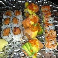 Photo taken at Sushi Damo by Justin P. on 3/25/2013