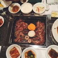 Photo taken at Cho Sun Gal Bi Korean BBQ & Sushi Bar by Camille C. on 1/5/2016