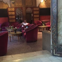 Photo taken at Grand Hotel Tazi by Lolle W. on 10/3/2016