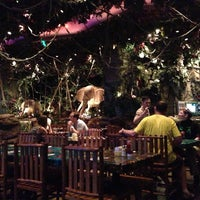 Photo taken at Rainforest Cafe Dubai by Roman M. on 5/26/2013