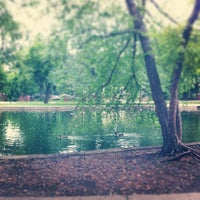 Photo taken at Loose Park by Mark E S. on 8/8/2013