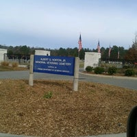 Photo taken at Albert G. Horton Jr. Memorial Veterans Cemetery by Geoffrey G. on 12/15/2012