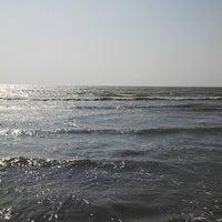 Photo taken at Kelwa Beach by Suraj J. on 3/5/2016