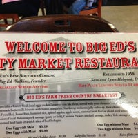 Photo taken at Big Ed's City Market Restaurant by Kevin C. on 12/2/2012