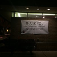Photo taken at Bloomfield Township Public Library by Patricia B. on 11/14/2014