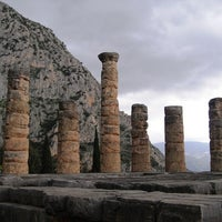 Photo taken at Archaeological Site of Delphi by Bruno C. on 5/8/2013