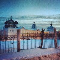 Снимок сделан в Успенский Трифонов монастырь пользователем Dasha S. 3/1/2013