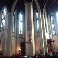 Photo taken at Gereja Katolik Katedral Jakarta by Fransisco X. on 10/14/2014