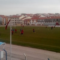 Photo taken at Abdurrahman Temel Futbol Sahası by TC Emrullah Ç. on 3/2/2014