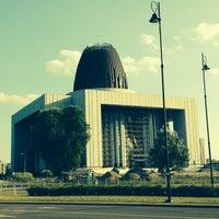 Photo taken at Świątynia Opatrzności Bożej by Pavuloniusz on 7/19/2014