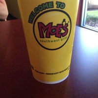 Photo taken at Moe's by Chyna Y. on 9/30/2013