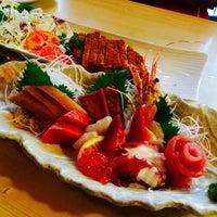 Photo taken at Kibune Sushi by Kathy P. on 6/2/2015