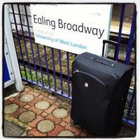 Photo taken at Ealing Broadway Railway Station (EAL) by Andrew Q. on 9/12/2013